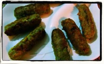 Choricitos de Platano Verde