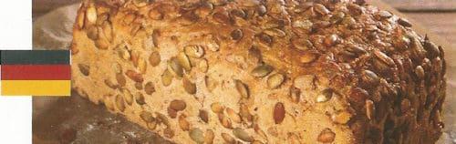 Pan alemán con semillas