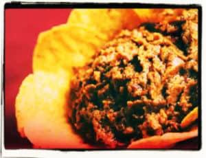 Hummus de frijol